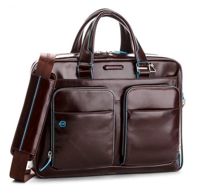 573e624dff54 Сумка Piquadro Blue Square CA2849B2/MO Коричневая - Купить сумку Пиквадро |  Time Bags
